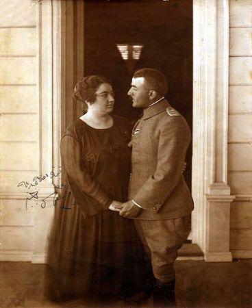 naciye sultan ve enver pasa 1918