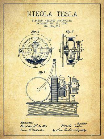 nikola tesla patent