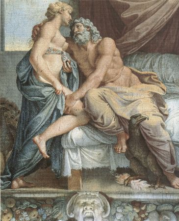 Annibale Carracci, Zeus And Hera, 1597