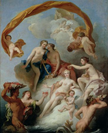Francois Lemoyne, The Toilet of Venus