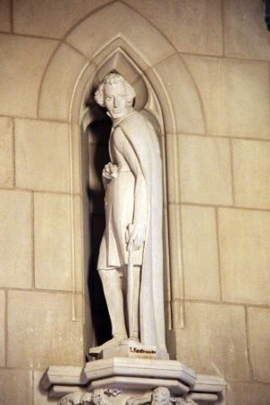 Washington National Cathedral, Kierkegaard heykeli