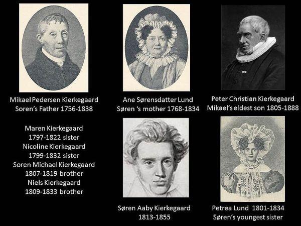 soren kierkegaard ailesi