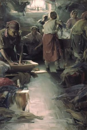 Abram Arkhipov, Washer Women