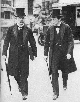 David Lloyd George ve Winston Churchill