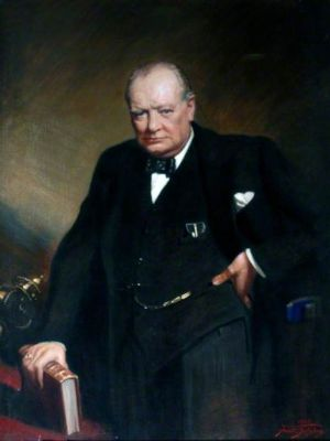 Frank O. Salisbury, Sir Winston Churchill, 1946