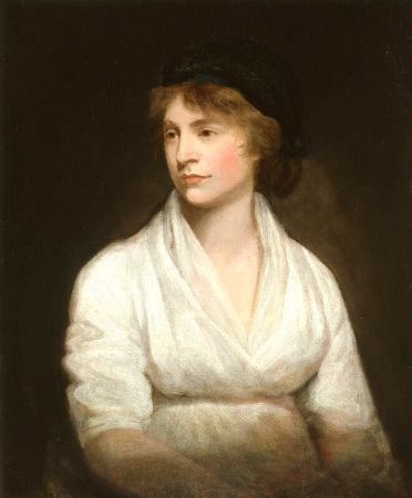 John Opie, Mary Wollstonecraft, 1797