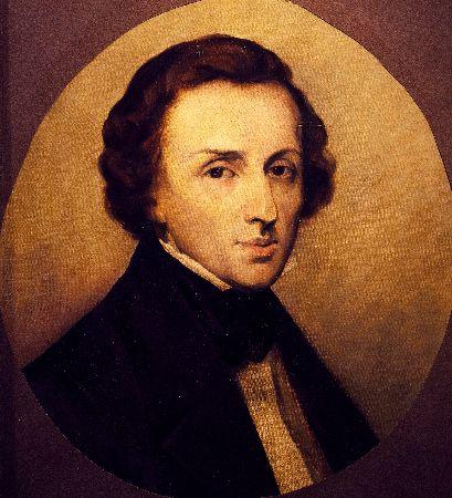 Ary Scheffer, Portrait of Frédéric Chopin
