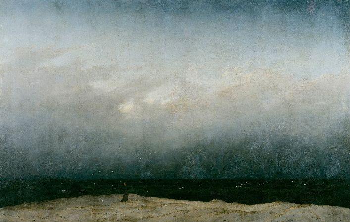 Caspar David Friedrich, The Monk By The Sea, 1808-10