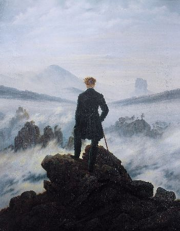 Caspar David Friedrich, The Wanderer Above The Sea of Fog, 1817-18