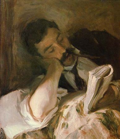 John Singer Sargent, Man Reading