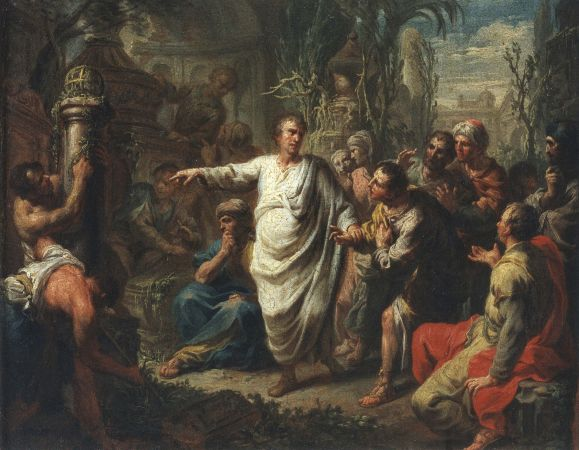 Martin Knoller, Cicero Discovering The Tomb of Archimedes, 1775