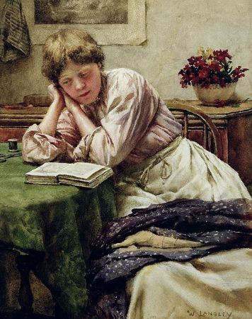 Walter Langley, A Quiet Read