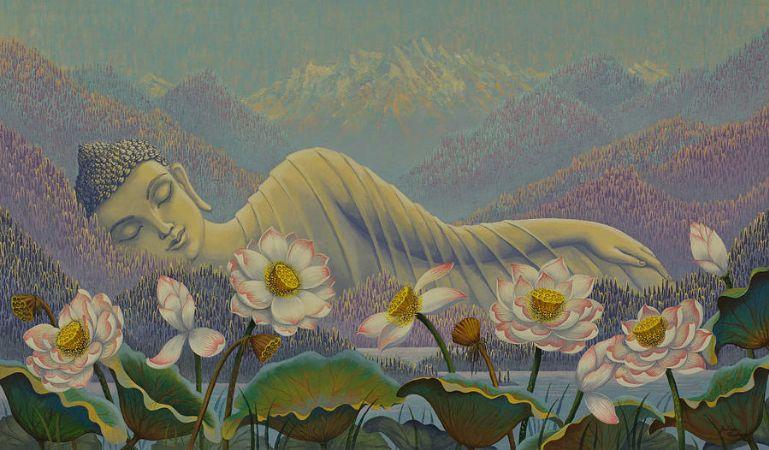 Yuliya Glavnaya, Ethereal Buddha