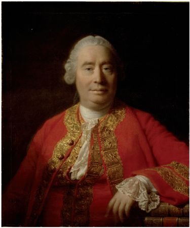 Allan Ramsay, Portrait of David Hume, 1766