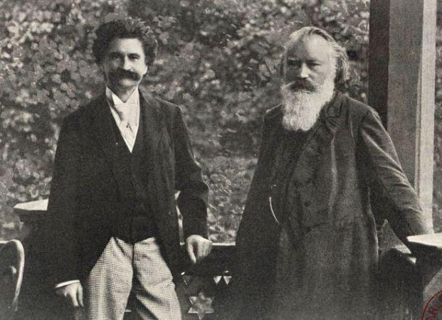 Brahms ve Johann Strauss, 1894
