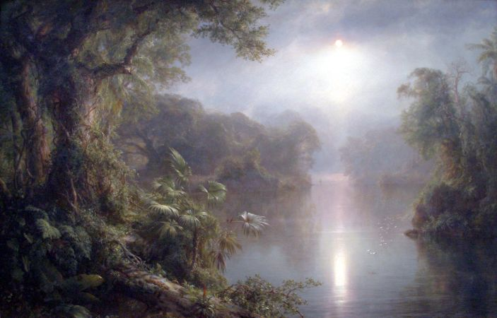 Frederic Edwin Church, The River of Light, 1877