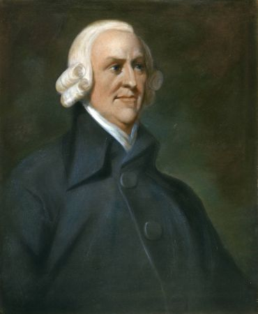 Portrait of Adam Smith