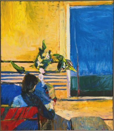 Richard Diebenkorn, Girl With Plant, 1960