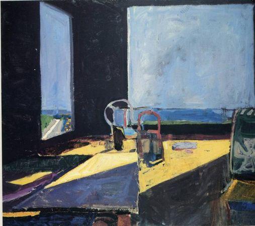 Richard Diebenkorn, Interior With View Of The Ocean, 1957