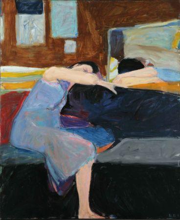 Richard Diebenkorn, Sleeping Woman, 1961