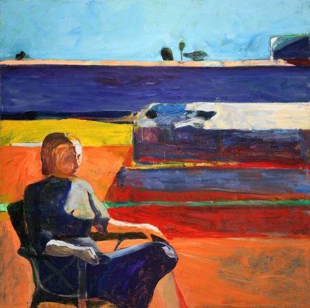 Richard Diebenkorn, Woman On A Porch, 1958