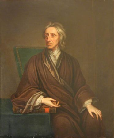 Thomas Gibson, Portrait of John Locke