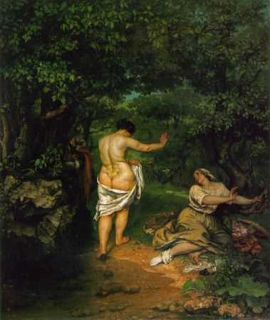 Gustave Courbet, The Bathers, 1853