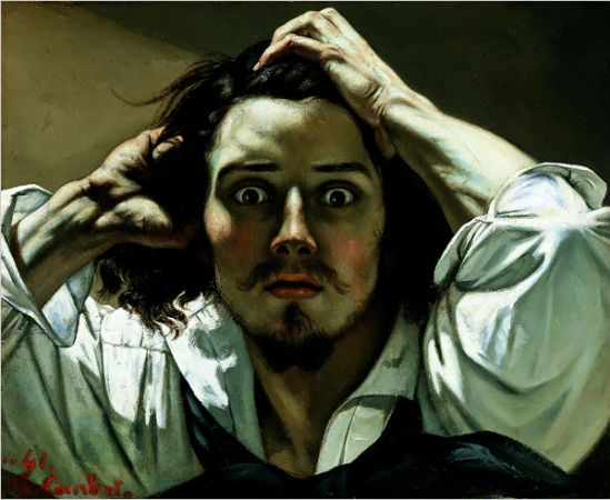 Gustave Courbet, The Desperate Man, 1845