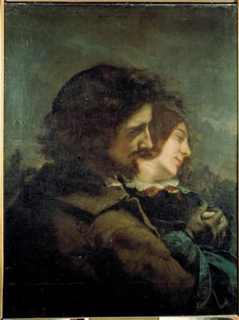 Gustave Courbet, The Happy Lovers, 1844