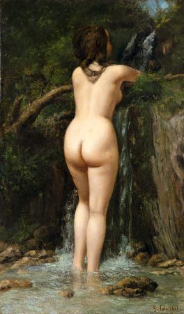 Gustave Courbet, The Source, 1862