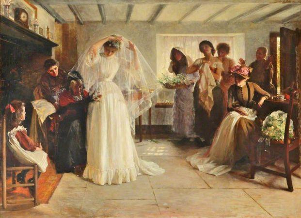 The Wedding Morning, John Henry Frederick Bacon