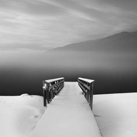 Vassilis Tangoulis, Pier in Snow