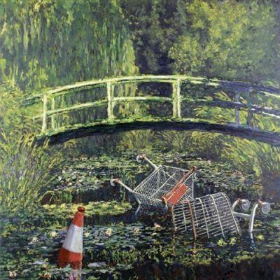 Banksy, Show Me The Monet, 2005