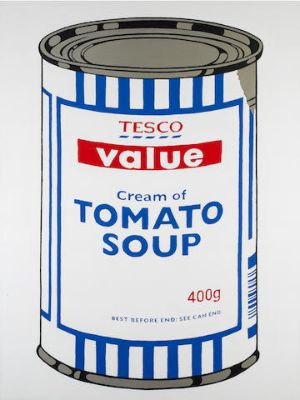 Banksy, Tesco Soup At MoMA, 2005