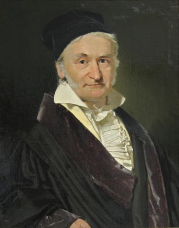 Christian Albrecht Jensen, Carl Friedrich Gauss, 1850