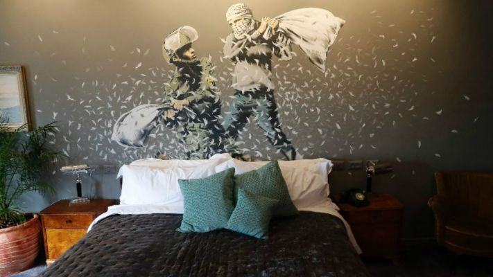 banksy, walled off oteli