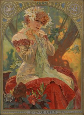 Alphonse Mucha, Lefèvre - Utile :Sarah Bernhardt, 1903