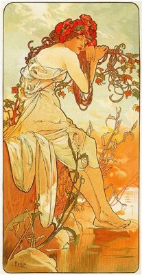 Alphonse Mucha, Summer, 1896