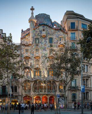 Antoni Gaudi, Casa Batllo, Barcelona