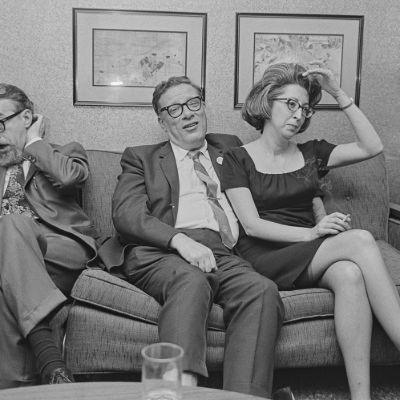 Asimov ve Lester del Rey, 1967