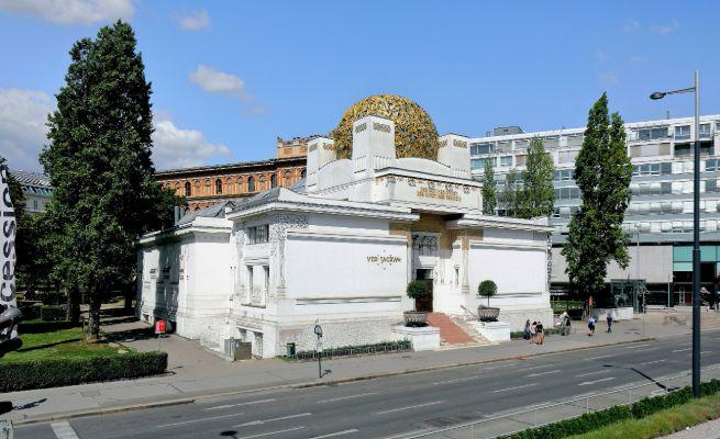 Joseph Maria Olbrich, Vienna, Secession Building, 1898