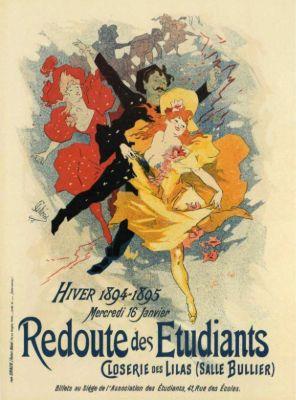 Jules Cheret, Redoute des Etudiants, 1894