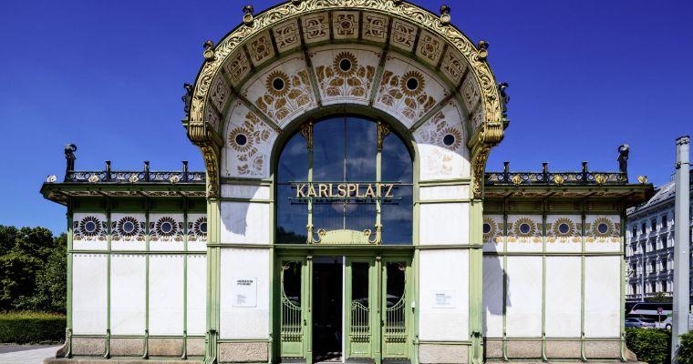 Otto Wagner, Karlsplatz Stadtbahn Station, 1898