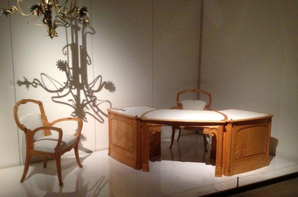 Victor Horta, Art Nouveau mobilyalar