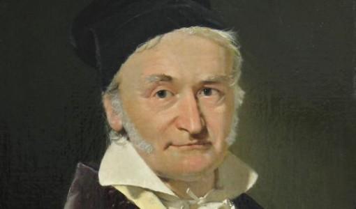 Christian Albrecht Jensen, Carl Friedrich Gauss, 1850