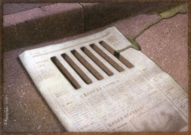 Paweł Kuczyński, The Newspaper