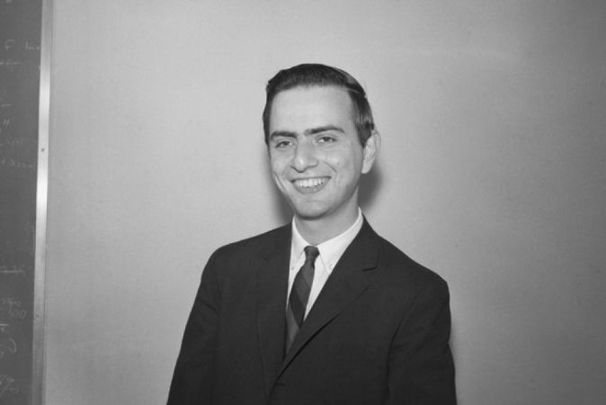 carl sagan, 1961