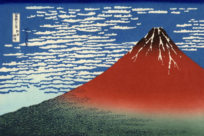 hokusai, Fine Wind, Clear Morning