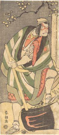 hokusai, Ichikawa Ebizō (Danjūrō V), 1791