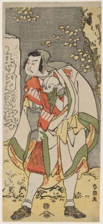 hokusai, Sakata Hangorô III (As A Traveling Priest), 1791